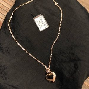 Tous vermil heart necklace